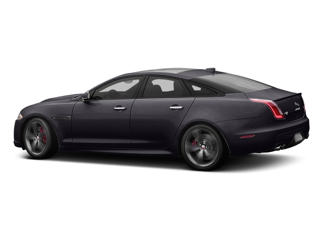 Black Berry 2016 Jaguar XJ Pictures XJ Sedan 4D XJR V8 Supercharged photos side view