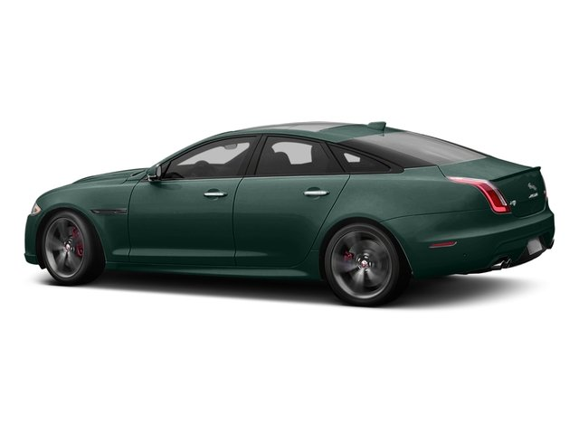 British Racing Green Metallic 2016 Jaguar XJ Pictures XJ Sedan 4D XJR V8 Supercharged photos side view