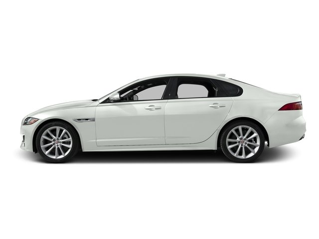 Polaris White 2016 Jaguar XF Pictures XF Sedan 4D 35t R-Sport V6 Supercharged photos side view
