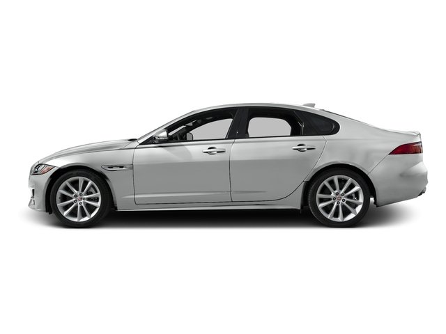Rhodium Silver Metallic 2016 Jaguar XF Pictures XF Sedan 4D 35t R-Sport AWD V6 Sprchrd photos side view