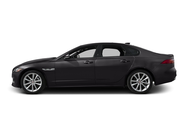 Ultimate Black Metallic 2016 Jaguar XF Pictures XF Sedan 4D 35t R-Sport V6 Supercharged photos side view