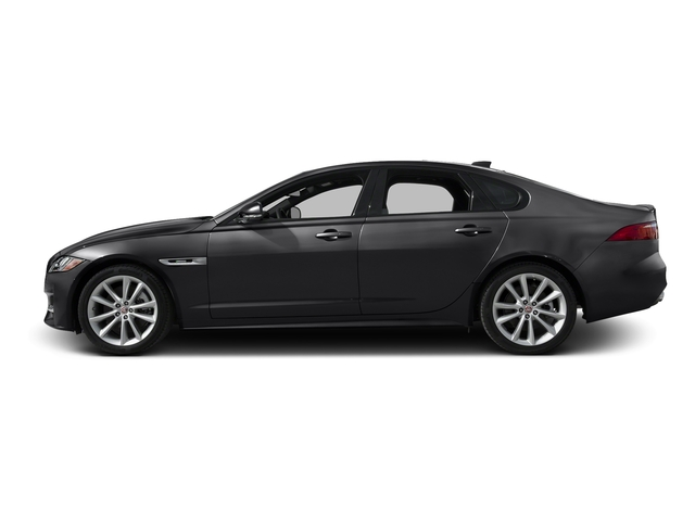 Ebony Black 2016 Jaguar XF Pictures XF Sedan 4D 35t R-Sport V6 Supercharged photos side view