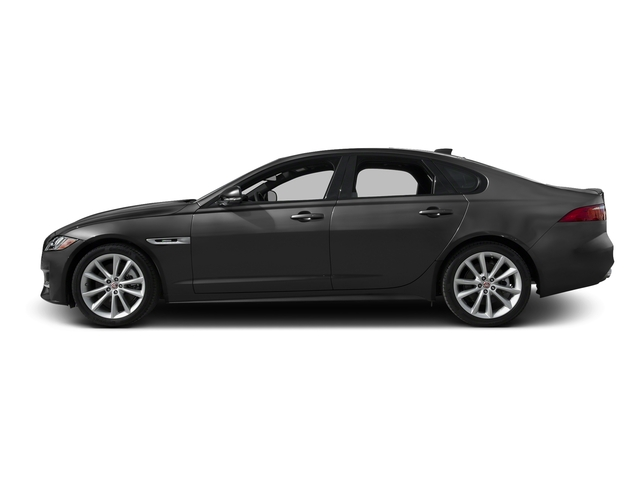 Storm Gray 2016 Jaguar XF Pictures XF Sedan 4D 35t R-Sport V6 Supercharged photos side view