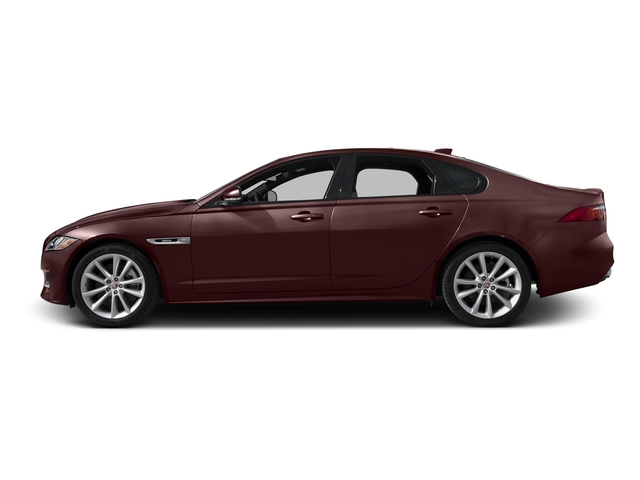 Aurora Red Metallic 2016 Jaguar XF Pictures XF Sedan 4D 35t R-Sport AWD V6 Sprchrd photos side view