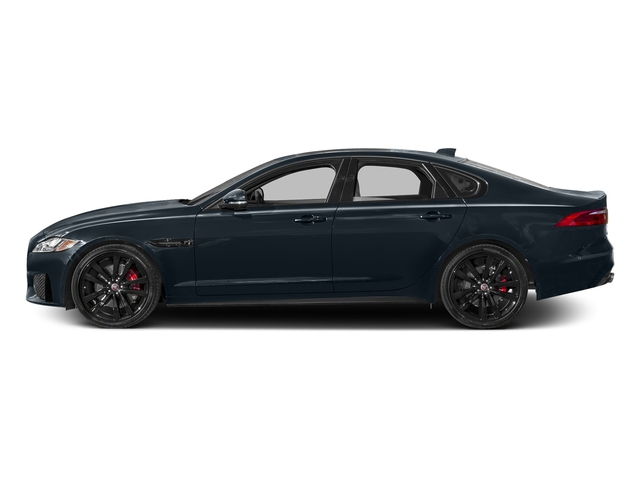 Dark Sapphire Metallic 2016 Jaguar XF Pictures XF Sedan 4D XF-S AWD V6 Supercharged photos side view