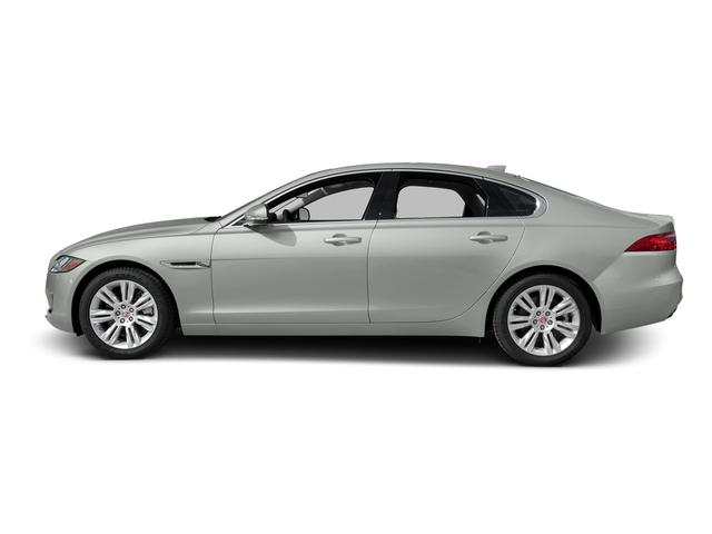 Polaris White 2016 Jaguar XF Pictures XF Sedan 4D 35t Premium V6 Supercharged photos side view