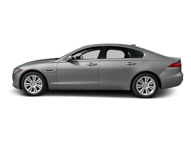 Rhodium Silver Metallic 2016 Jaguar XF Pictures XF Sedan 4D 35t Premium V6 Supercharged photos side view