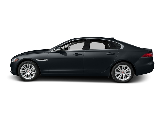Celestial Black 2016 Jaguar XF Pictures XF Sedan 4D 35t Premium V6 Supercharged photos side view