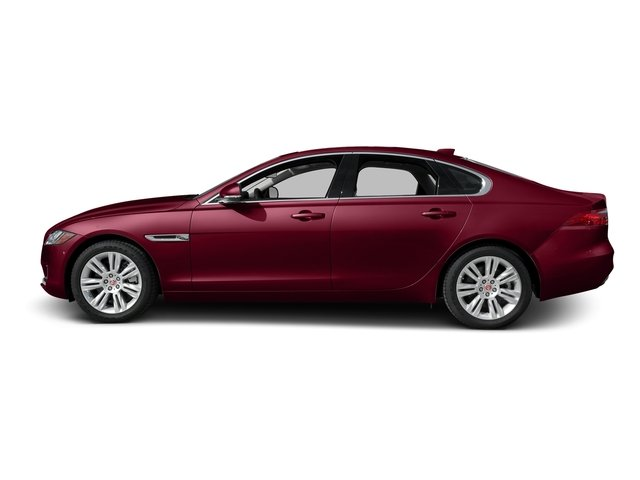 Odyssey Red Metallic 2016 Jaguar XF Pictures XF Sedan 4D 35t Premium V6 Supercharged photos side view