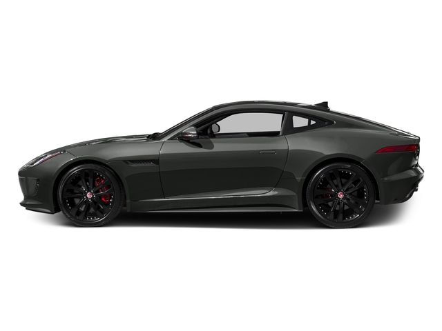 Ammonite Gray Metallic 2016 Jaguar F-TYPE Pictures F-TYPE Coupe 2D S V6 photos side view