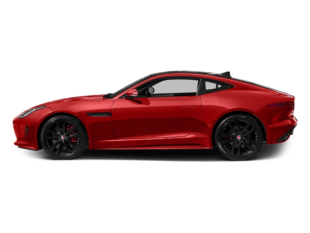 Salsa Red 2016 Jaguar F-TYPE Pictures F-TYPE Coupe 2D S AWD V6 photos side view