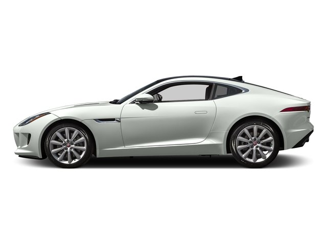 Polaris White 2016 Jaguar F-TYPE Pictures F-TYPE Coupe 2D V6 photos side view