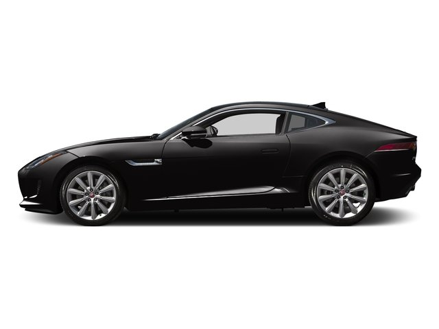 Ultimate Black Metallic 2016 Jaguar F-TYPE Pictures F-TYPE Coupe 2D V6 photos side view