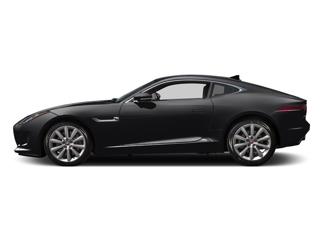 Ebony Black 2016 Jaguar F-TYPE Pictures F-TYPE Coupe 2D V6 photos side view