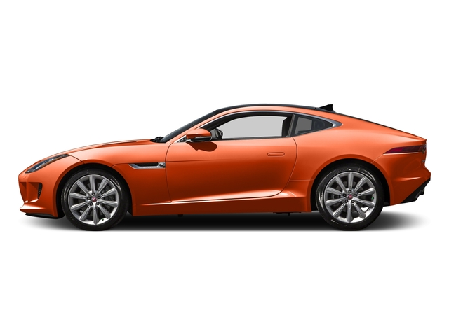 Firesand Metallic 2016 Jaguar F-TYPE Pictures F-TYPE Coupe 2D V6 photos side view
