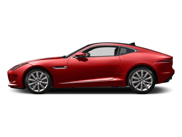 Salsa Red 2016 Jaguar F-TYPE Pictures F-TYPE Coupe 2D V6 photos side view