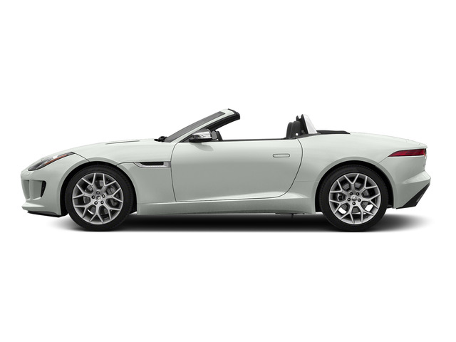 Polaris White 2016 Jaguar F-TYPE Pictures F-TYPE Convertible 2D V6 photos side view