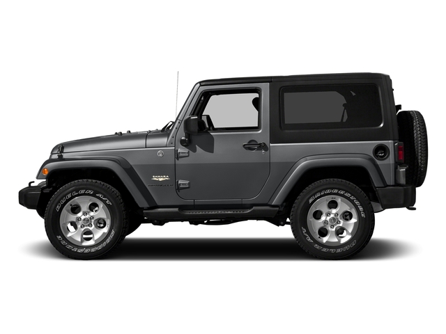 Granite Crystal Metallic Clearcoat 2016 Jeep Wrangler Pictures Wrangler Utility 2D Sahara 4WD V6 photos side view