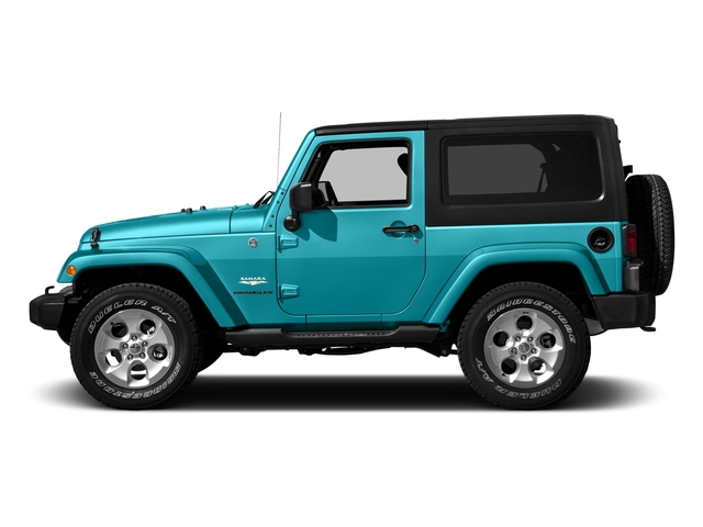 Hydro Blue Pearlcoat 2016 Jeep Wrangler Pictures Wrangler Utility 2D Sahara 4WD V6 photos side view