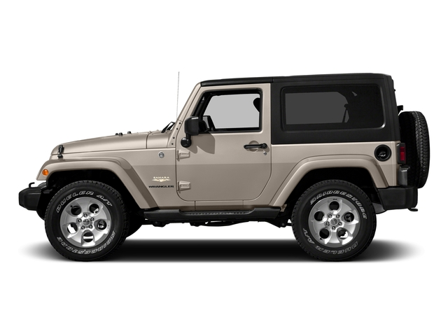 Mojave Sand Clearcoat 2016 Jeep Wrangler Pictures Wrangler Utility 2D Sahara 4WD V6 photos side view