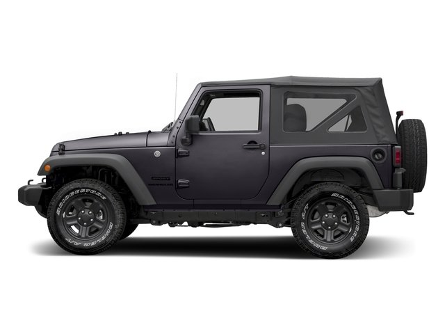 Rhino Clearcoat 2016 Jeep Wrangler Pictures Wrangler Utility 2D Sport 4WD V6 photos side view