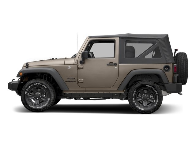 Mojave Sand Clearcoat 2016 Jeep Wrangler Pictures Wrangler Utility 2D Sport 4WD V6 photos side view