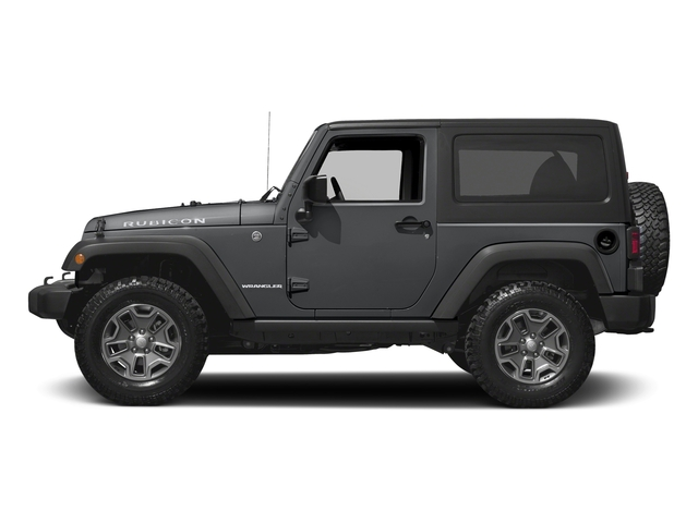 Granite Crystal Metallic Clearcoat 2016 Jeep Wrangler Pictures Wrangler Utility 2D Rubicon 4WD V6 photos side view
