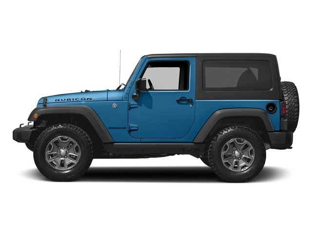 Hydro Blue Pearlcoat 2016 Jeep Wrangler Pictures Wrangler Utility 2D Rubicon 4WD V6 photos side view