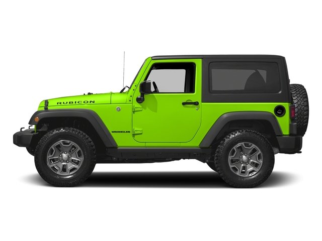 Hypergreen Clearcoat 2016 Jeep Wrangler Pictures Wrangler Utility 2D Rubicon 4WD V6 photos side view