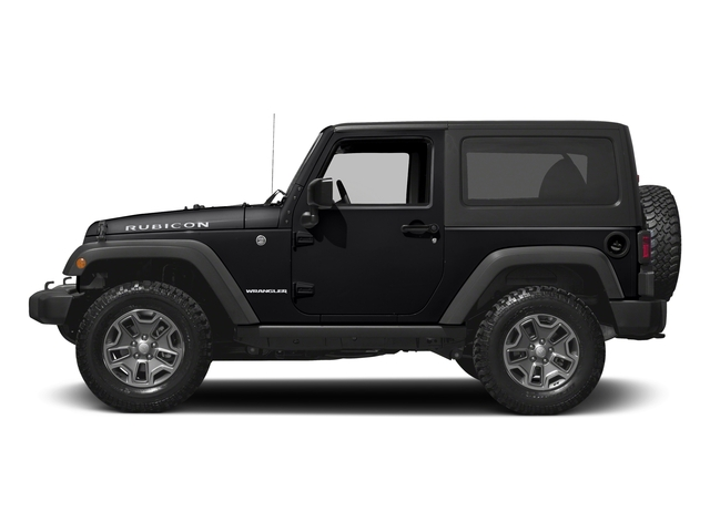 Black Clearcoat 2016 Jeep Wrangler Pictures Wrangler Utility 2D Rubicon 4WD V6 photos side view