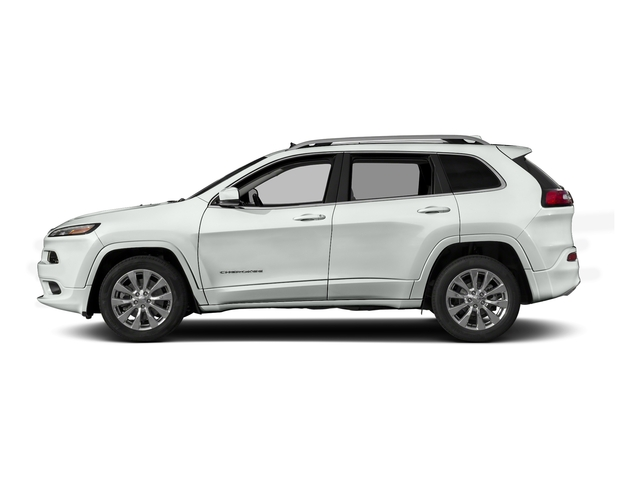Bright White Clearcoat 2016 Jeep Cherokee Pictures Cherokee Utility 4D Overland 2WD photos side view