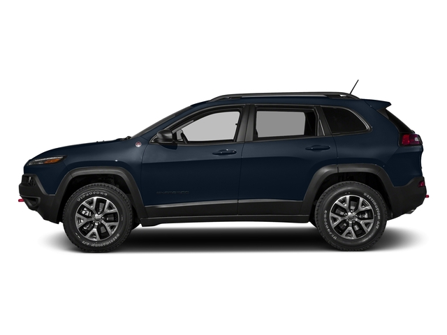 True Blue Pearlcoat 2016 Jeep Cherokee Pictures Cherokee Utility 4D Trailhawk 4WD photos side view