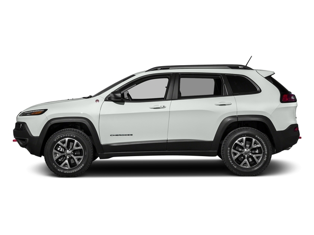 Bright White Clearcoat 2016 Jeep Cherokee Pictures Cherokee Utility 4D Trailhawk 4WD photos side view