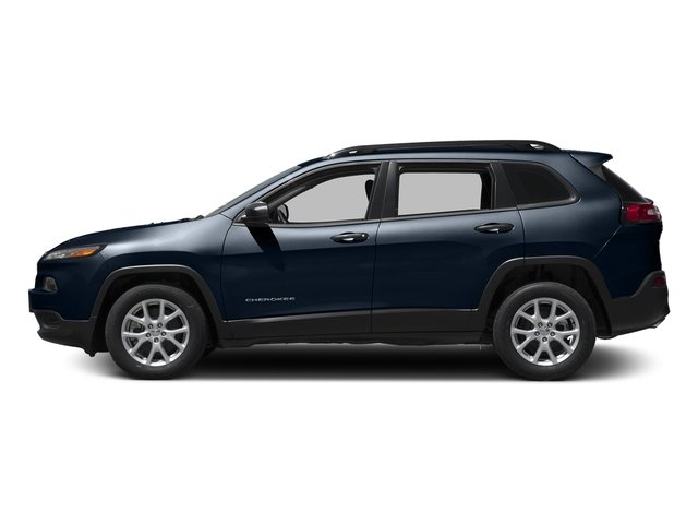 True Blue Pearlcoat 2016 Jeep Cherokee Pictures Cherokee Utility 4D Sport 2WD photos side view