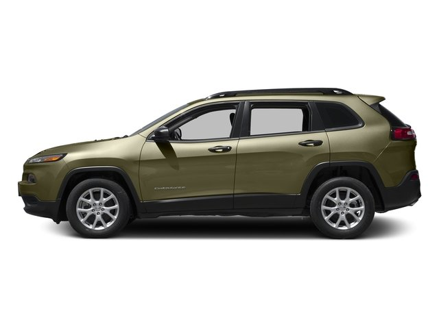 Eco Green Pearlcoat 2016 Jeep Cherokee Pictures Cherokee Utility 4D Sport 2WD photos side view