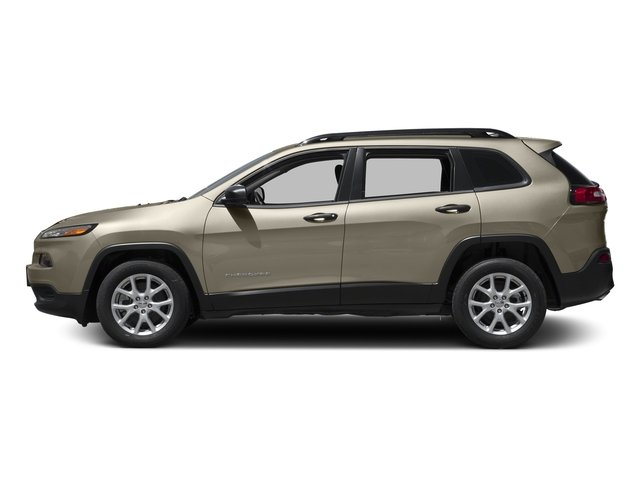 Light Brownstone Pearlcoat 2016 Jeep Cherokee Pictures Cherokee Utility 4D Sport 2WD V6 photos side view