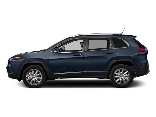 True Blue Pearlcoat 2016 Jeep Cherokee Pictures Cherokee Utility 4D Limited 2WD photos side view
