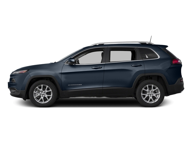 True Blue Pearlcoat 2016 Jeep Cherokee Pictures Cherokee Utility 4D Latitude 4WD photos side view