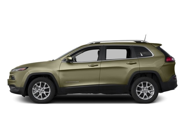 Eco Green Pearlcoat 2016 Jeep Cherokee Pictures Cherokee Utility 4D Latitude 4WD photos side view