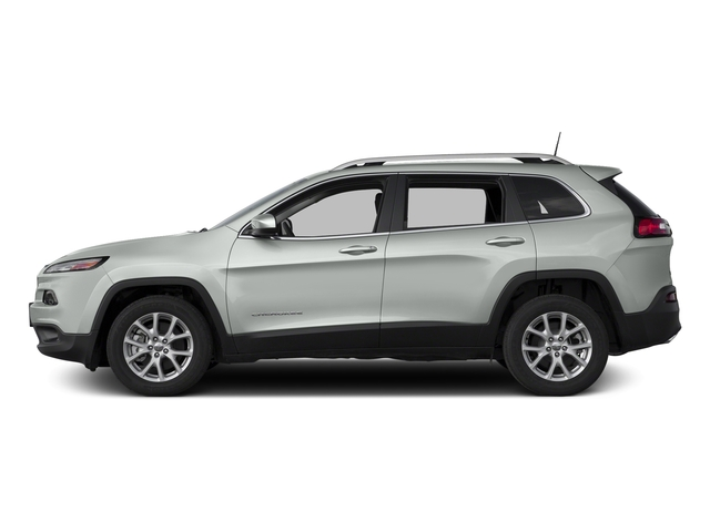 Bright White Clearcoat 2016 Jeep Cherokee Pictures Cherokee Utility 4D Latitude 4WD photos side view