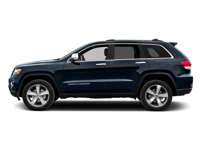 True Blue Pearlcoat 2016 Jeep Grand Cherokee Pictures Grand Cherokee Utility 4D Limited 2WD photos side view