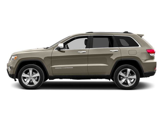 Light Brownstone Pearlcoat 2016 Jeep Grand Cherokee Pictures Grand Cherokee Utility 4D Limited 4WD photos side view