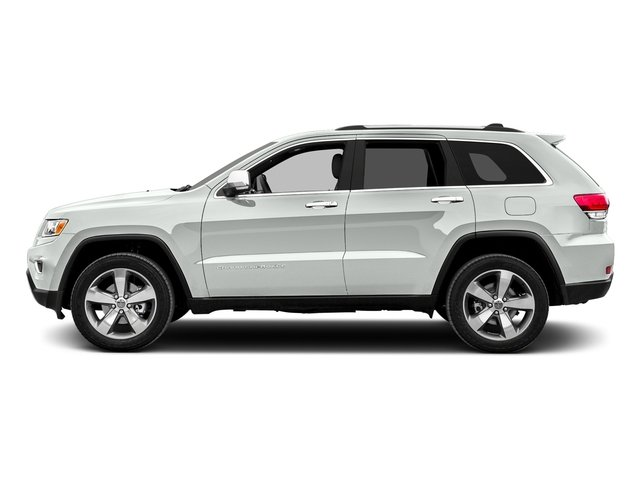 Bright White Clearcoat 2016 Jeep Grand Cherokee Pictures Grand Cherokee Utility 4D Limited 2WD photos side view