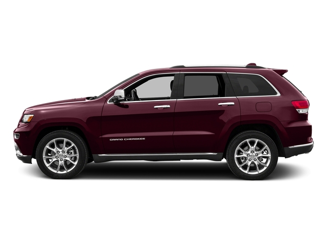 Velvet Red Pearlcoat 2016 Jeep Grand Cherokee Pictures Grand Cherokee Utility 4D Summit Diesel 2WD photos side view