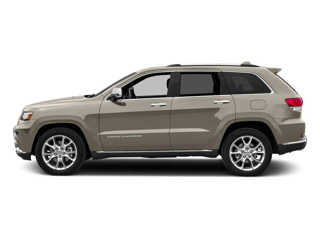 Light Brownstone Pearlcoat 2016 Jeep Grand Cherokee Pictures Grand Cherokee Utility 4D Summit Diesel 2WD photos side view