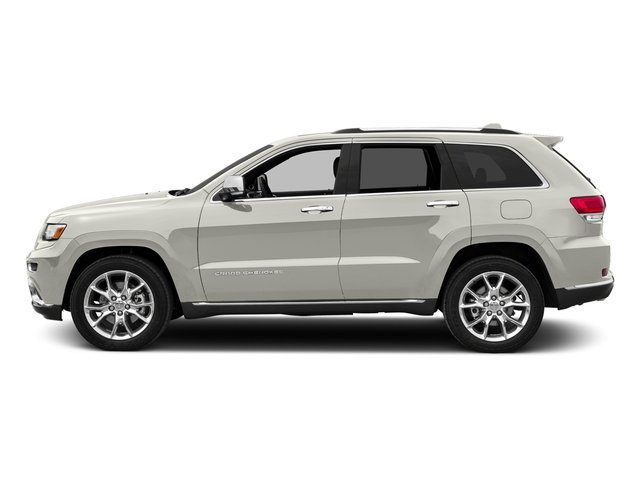 Ivory 3-Coat 2016 Jeep Grand Cherokee Pictures Grand Cherokee Utility 4D Summit Diesel 2WD photos side view