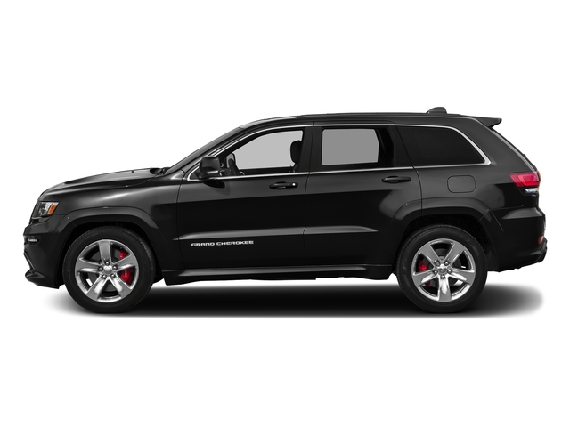 Brilliant Black Crystal Pearlcoat 2016 Jeep Grand Cherokee Pictures Grand Cherokee Utility 4D SRT-8 4WD photos side view