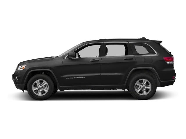 Brilliant Black Crystal Pearlcoat 2016 Jeep Grand Cherokee Pictures Grand Cherokee Utility 4D Laredo 4WD photos side view