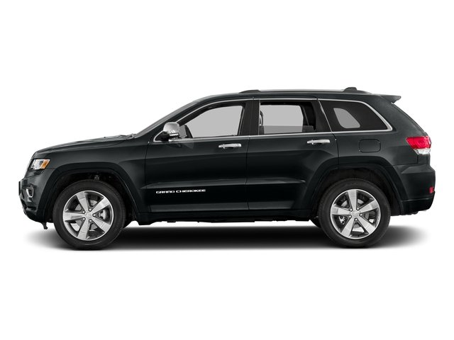 Maximum Steel Metallic Clearcoat 2016 Jeep Grand Cherokee Pictures Grand Cherokee Utility 4D Overland Diesel 4WD photos side view