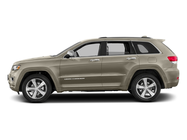 Light Brownstone Pearlcoat 2016 Jeep Grand Cherokee Pictures Grand Cherokee Utility 4D Overland Diesel 4WD photos side view